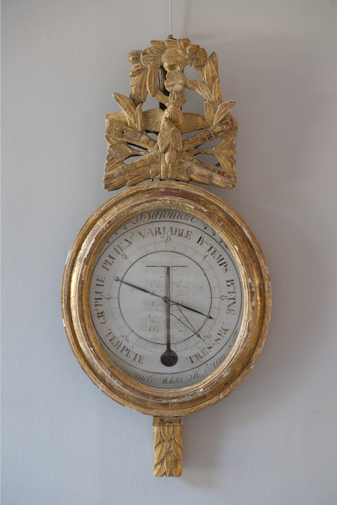 18th C. French Barometer
