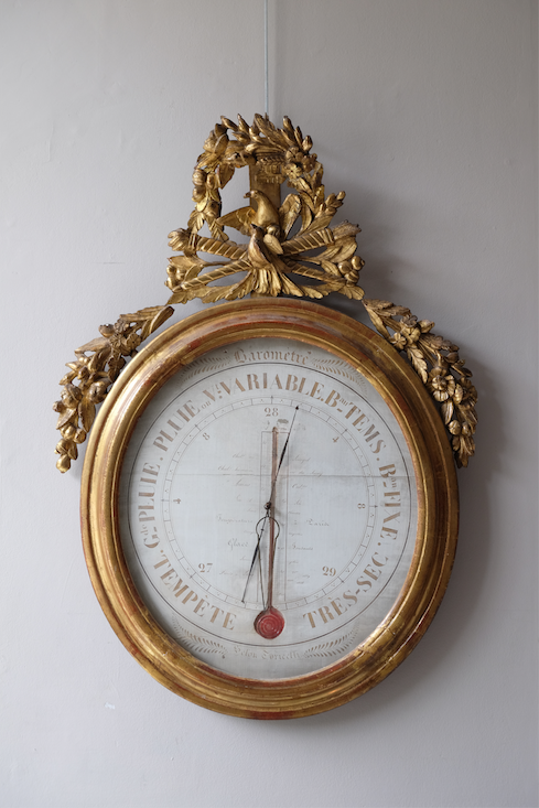 Large 19th C. French Barometer