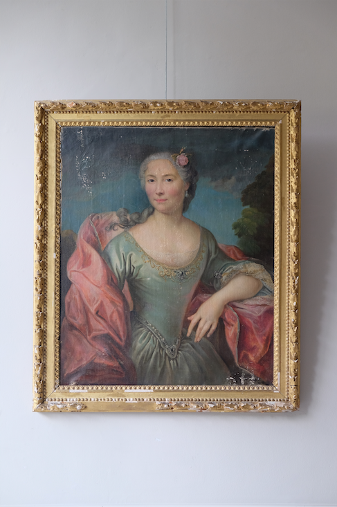 Late 18th C. French Portrait of a Lady