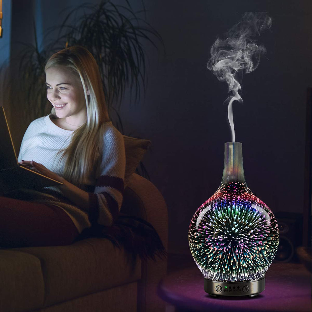 FireDiffuser™ - Ultrasonic Firework Humidifier & Oil Diffuser