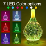 FireDiffuser - Firework Aroma Diffuser 7 Colors