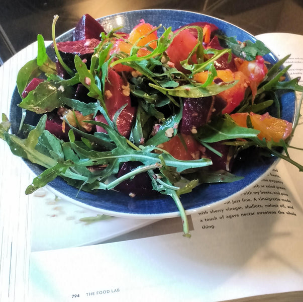 Building a great salad -- Part 1: Greens
