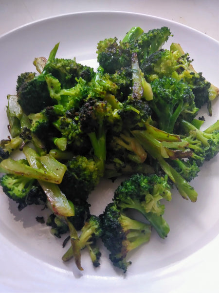 Easy broccoli side dish two ways