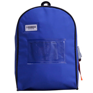 Top Open Cash Bag (Themis Seal compatible) Blue - New Product