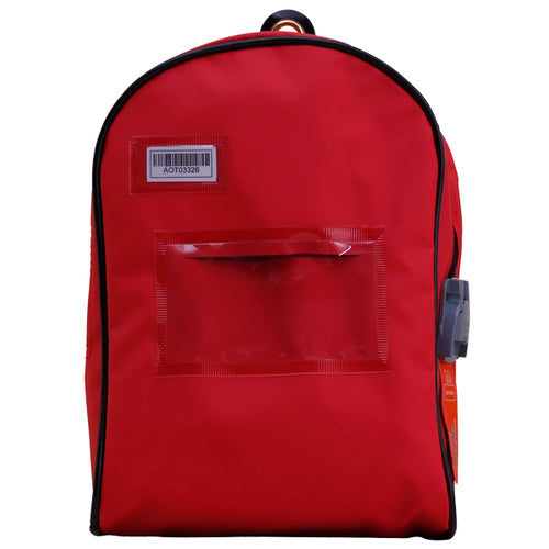 Top Open Cash Bag (Themis Seal compatible) Red