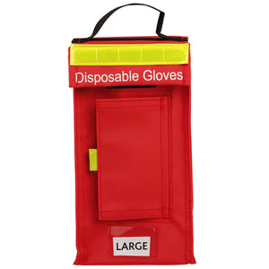 Disposable Glove Bag (Red)
