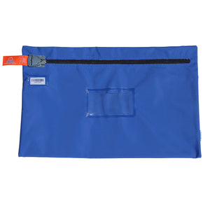 A4 Document Bag (Harclip Seal compatible) Blue