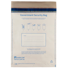 Load image into Gallery viewer, A4 Platinum Government Security Bag (500 Unit Carton)