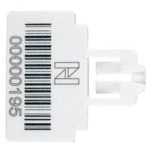 Load image into Gallery viewer, Themis Security  Seal - White - Stock Numbering & Barcoding (1000 unit pack)
