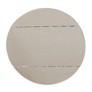 Self Destruct Label | 38mm round | White | Pre-printed | Serial Numbered (1000 label roll)