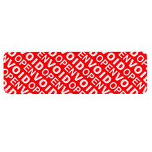 Load image into Gallery viewer, HR (Removable Adhesive Residue) | Red | Pre-printed | Serial Numbered (1000 label roll)