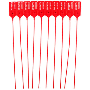 Pull Grip 3 Red | Harcor - Numbered (1000 Unit Carton)