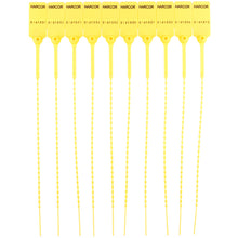 Load image into Gallery viewer, Plastic Pulltight V2 - Yellow / Numbered (1000 Unit Carton)