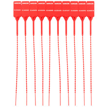 Load image into Gallery viewer, Plastic Pulltight V2 - Red / Numbered (1000 Unit Carton)