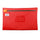 ProductVariantDrop A4 Document Bag Red  - S.C.E.C approved includes S-TEC chamber / Harclip Seal compatible