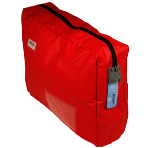Utility Cash Bag (Harclip Seal compatible) Red