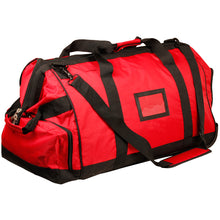 Load image into Gallery viewer, Large Fire Fighter Kit Bag with Wheels - Red