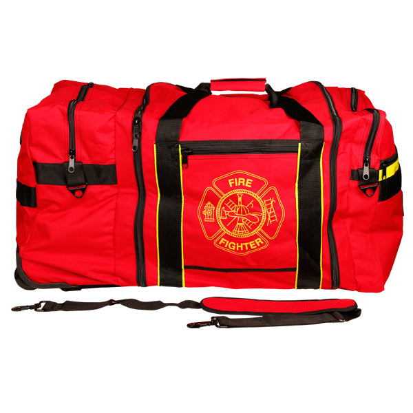 Fire Fighter Gear Bag with Wheels
