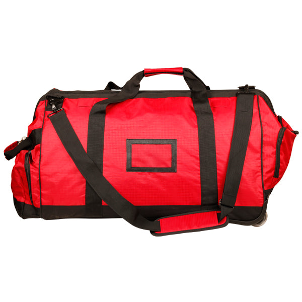 Large Fire Fighter Kit Bag with Wheels