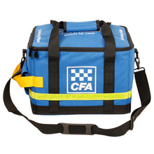Load image into Gallery viewer, CFA (Country Fire Authority) Bottled water cooler bag & two ice bricks