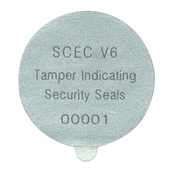 SCEC V6 Security Label