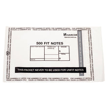Load image into Gallery viewer, 500 Fit Note Bag (2500 Unit Carton)