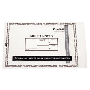 500 Fit Note Bag (2500 Unit Carton)