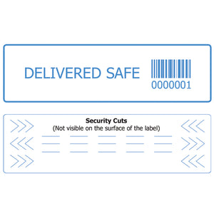 Custom Security Label For Food Delivery