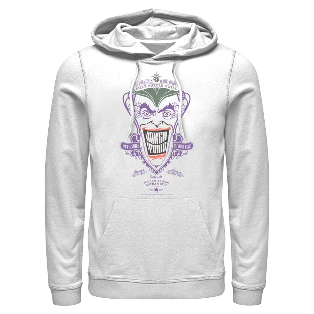 White DC FATHER'S DAY The Joker Hoodie Image