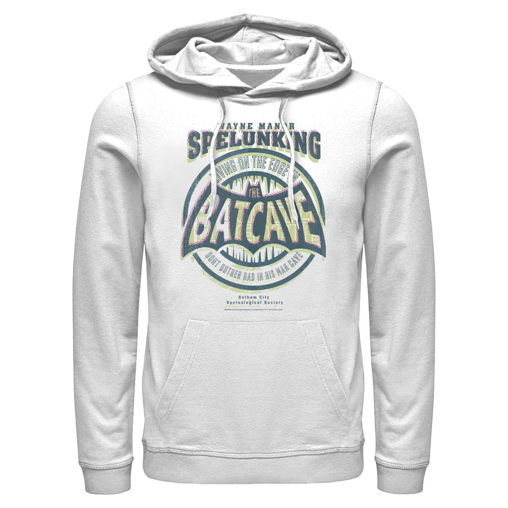 White DC FATHER'S DAY Batman Dad Cave Hoodie Image