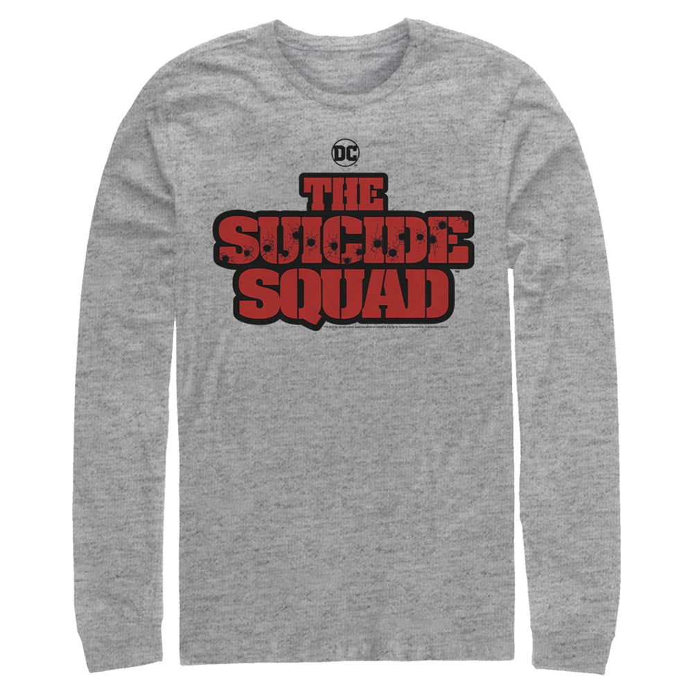 THE SUICIDE SQUAD Movie Logo Long Sleeve Tee
