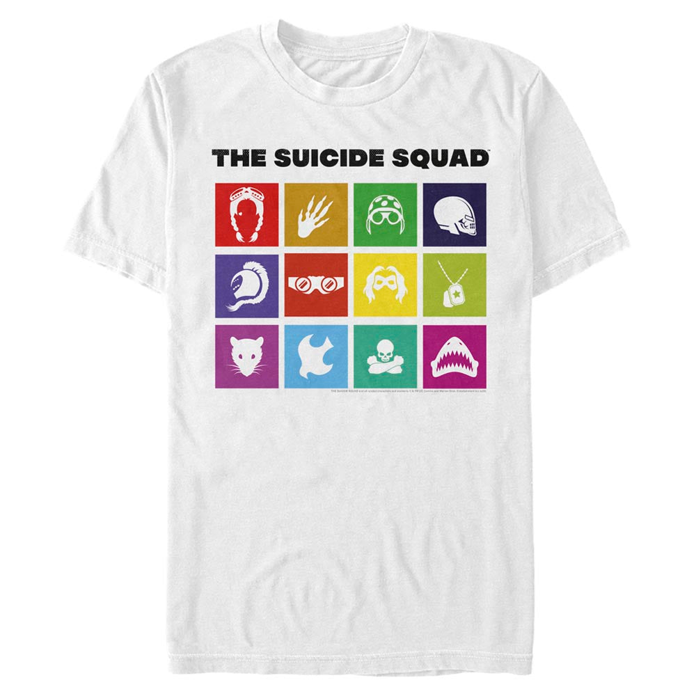 THE SUICIDE SQUAD Icons T-Shirt