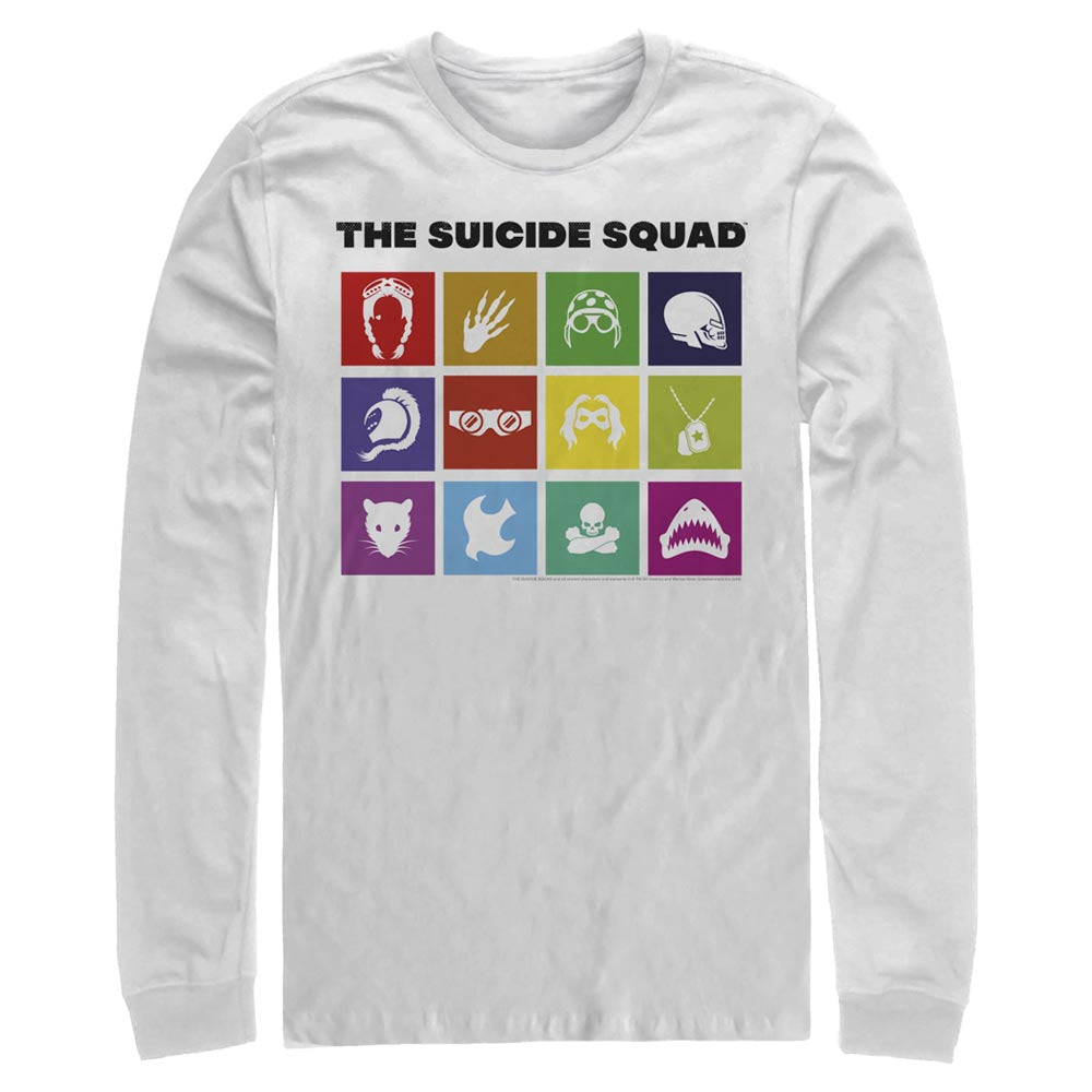THE SUICIDE SQUAD Icons Long Sleeve Tee