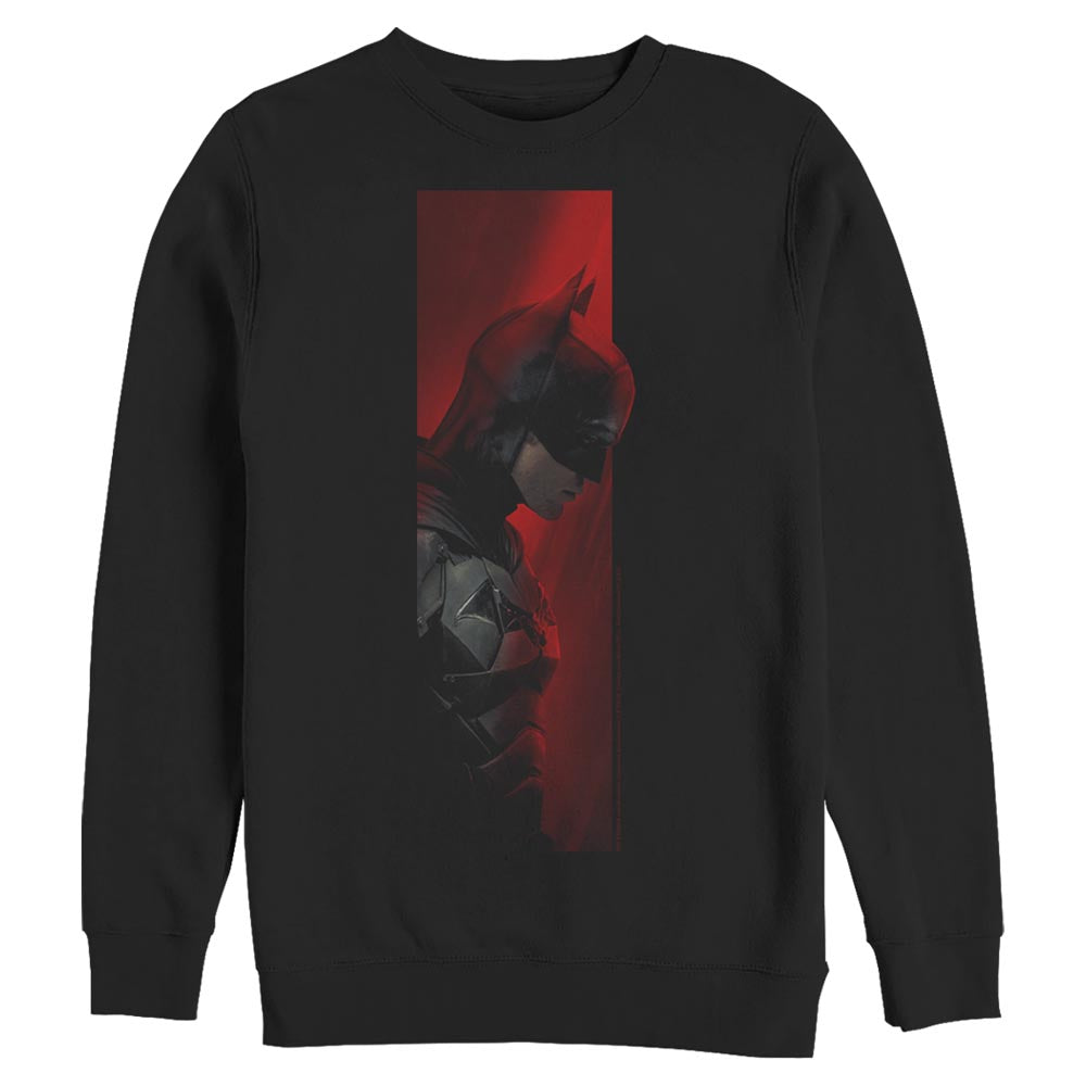 THE BATMAN Movie Profile Crew Sweatshirt