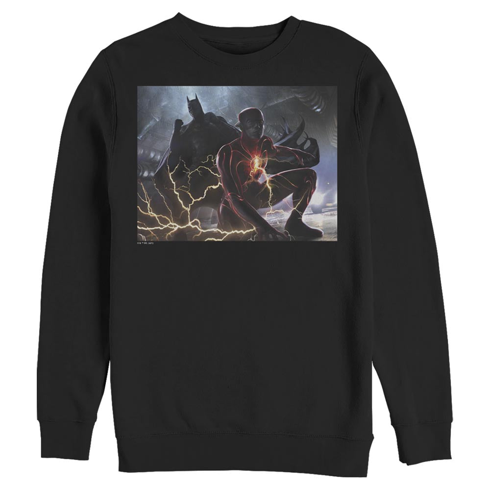THE FLASH and BATMAN Concept Art Crew Sweatshirt