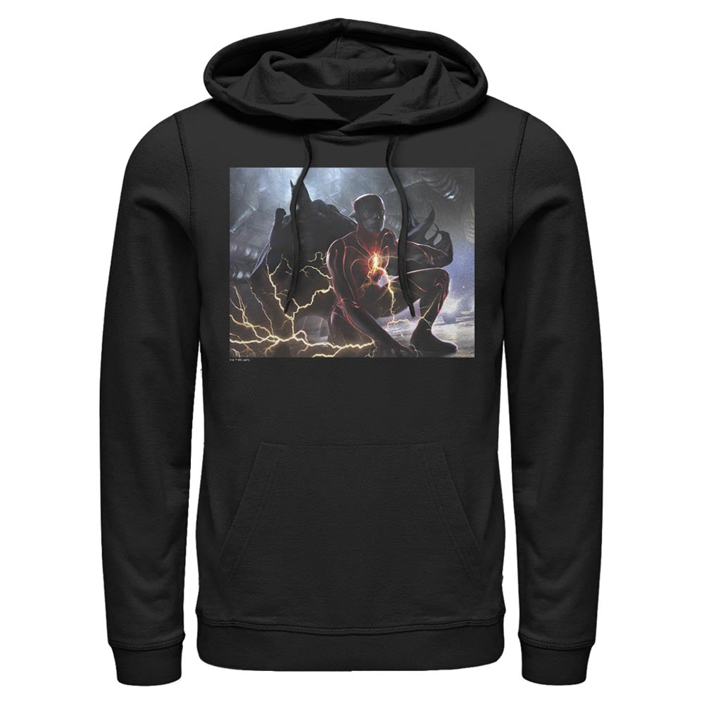 THE FLASH and BATMAN Concept Art Hoodie