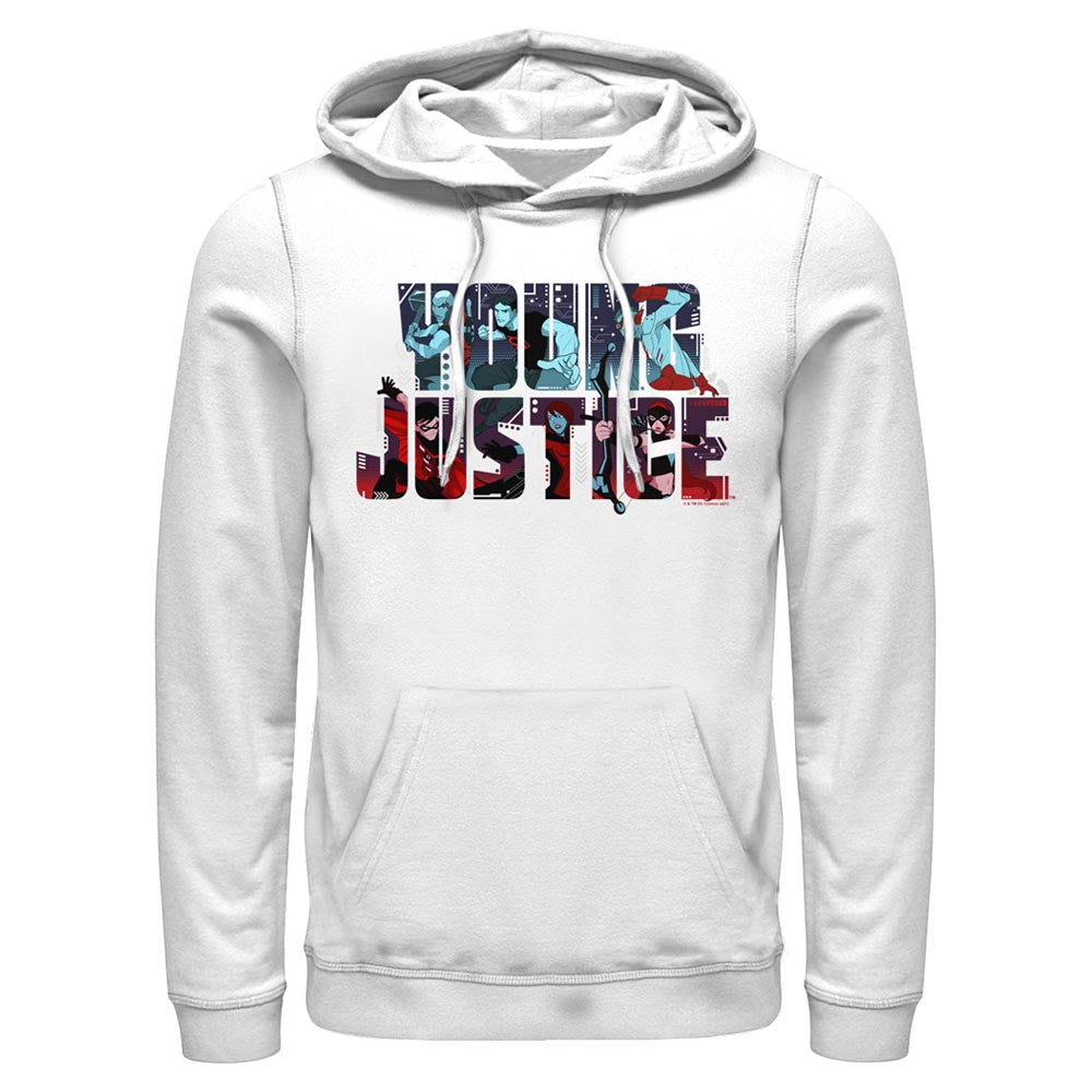 YOUNG JUSTICE CHARACTERS LOGO Hoodie