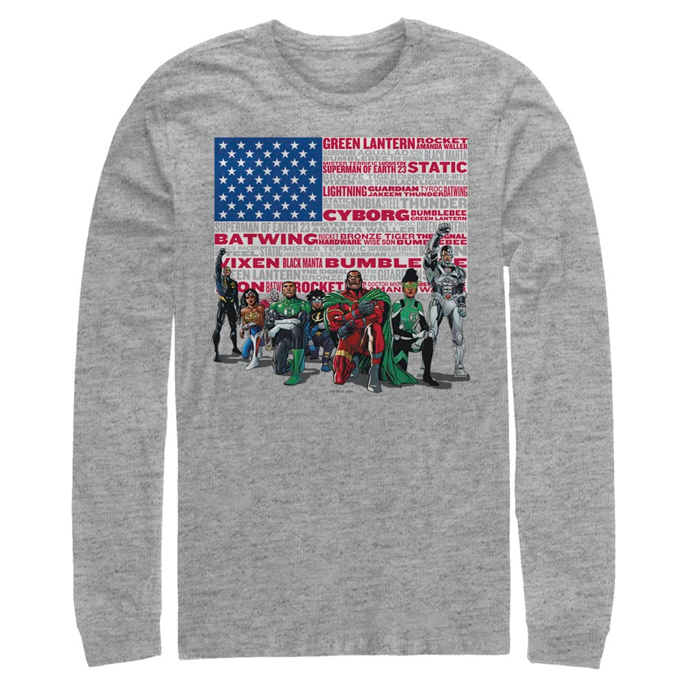 DC HEROES Long Sleeve Tee featuring art by Denys Cowan