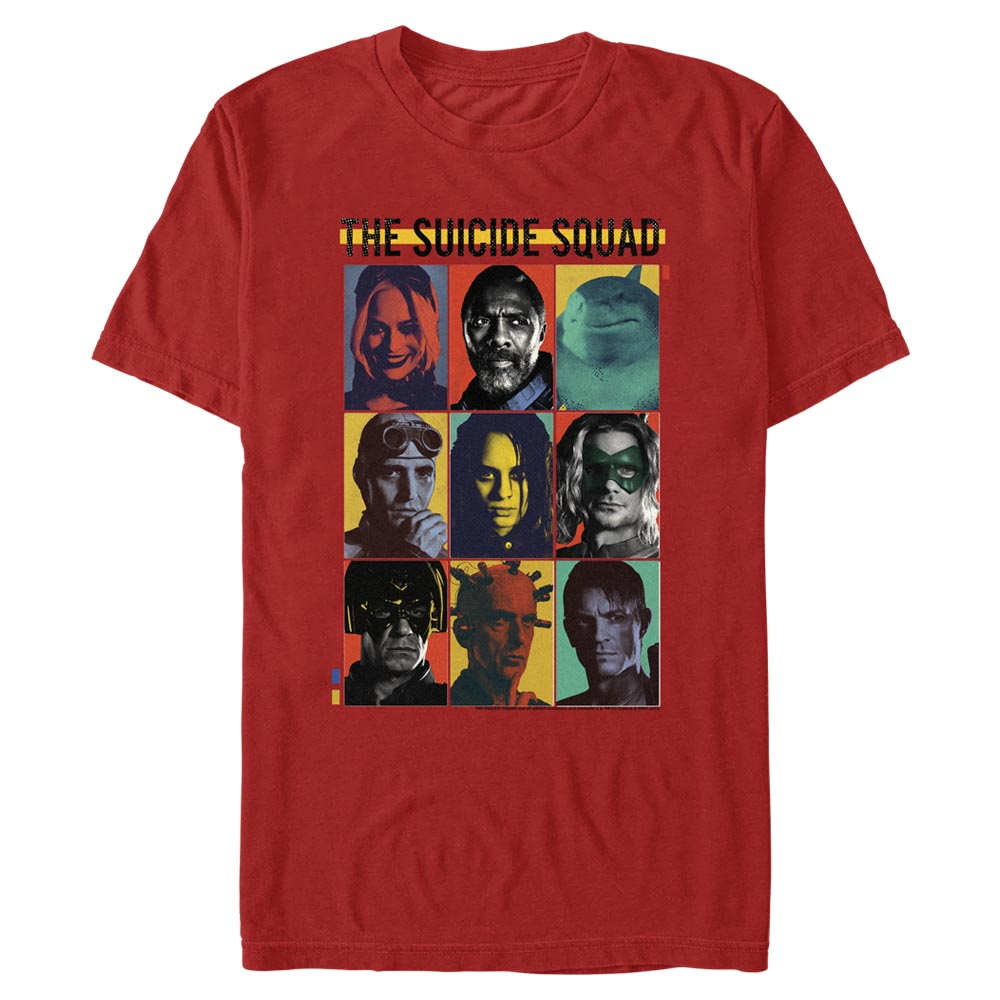 THE SUICIDE SQUAD Team Lineup T-Shirt