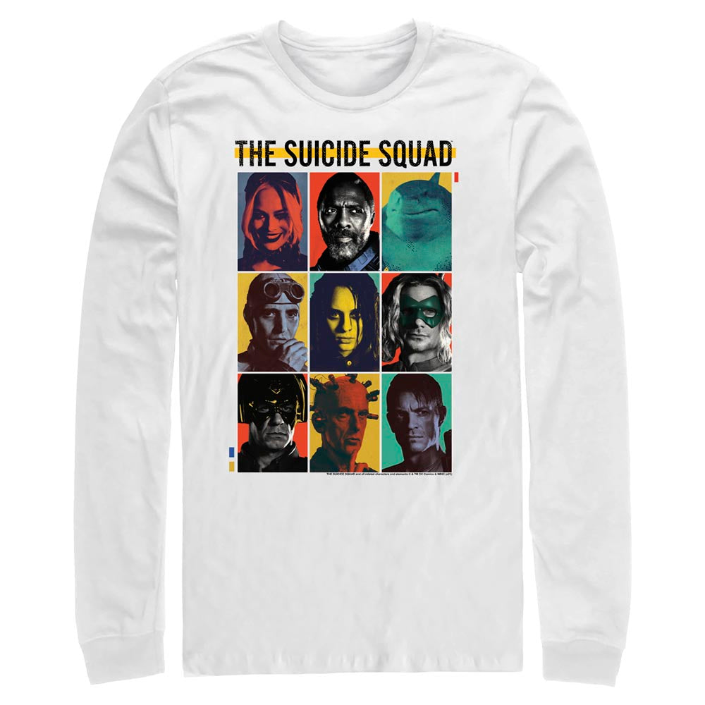 THE SUICIDE SQUAD Team Lineup Long Sleeve Tee