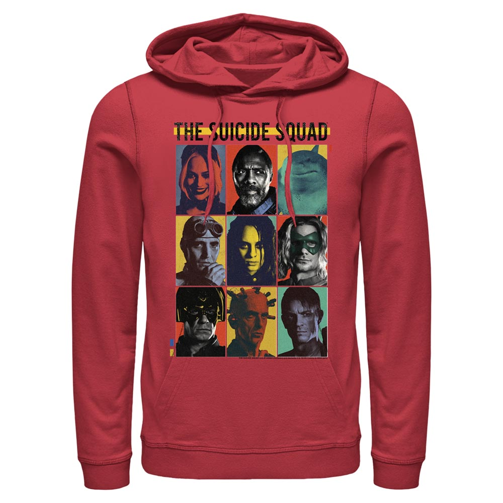 THE SUICIDE SQUAD Team Lineup Hoodie