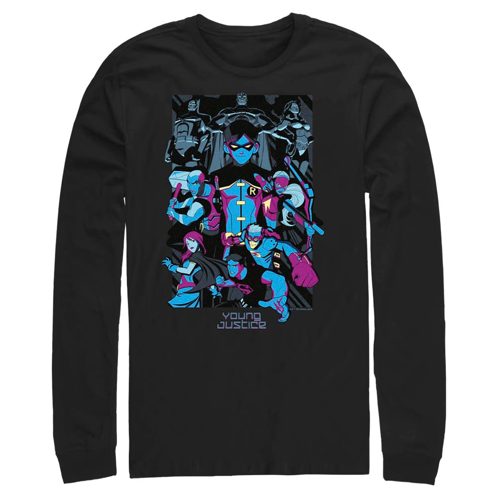 YOUNG JUSTICE Team Long Sleeve Tee