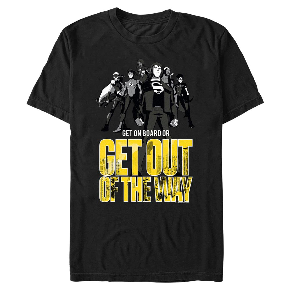 YOUNG JUSTICE Get Out Of The Way T-Shirt
