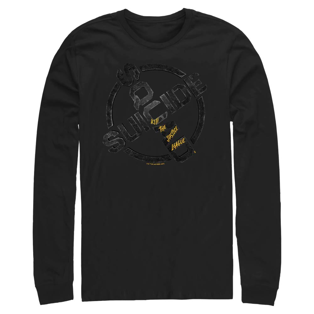 SUICIDE SQUAD: KILL THE JUSTICE LEAGUE Logo Long Sleeve Tee