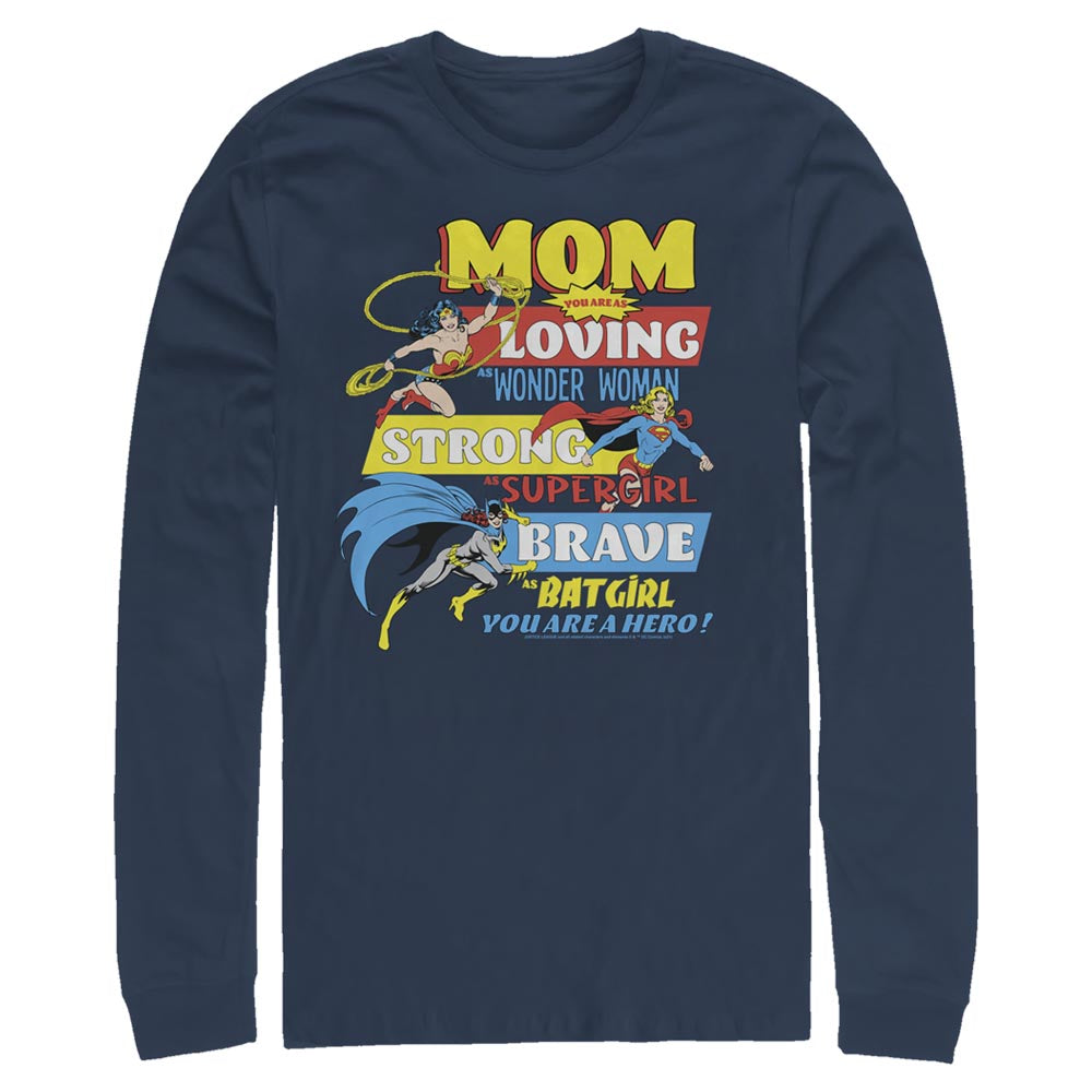 DC MOTHER'S DAY You Are A Hero Long Sleeve Tee
