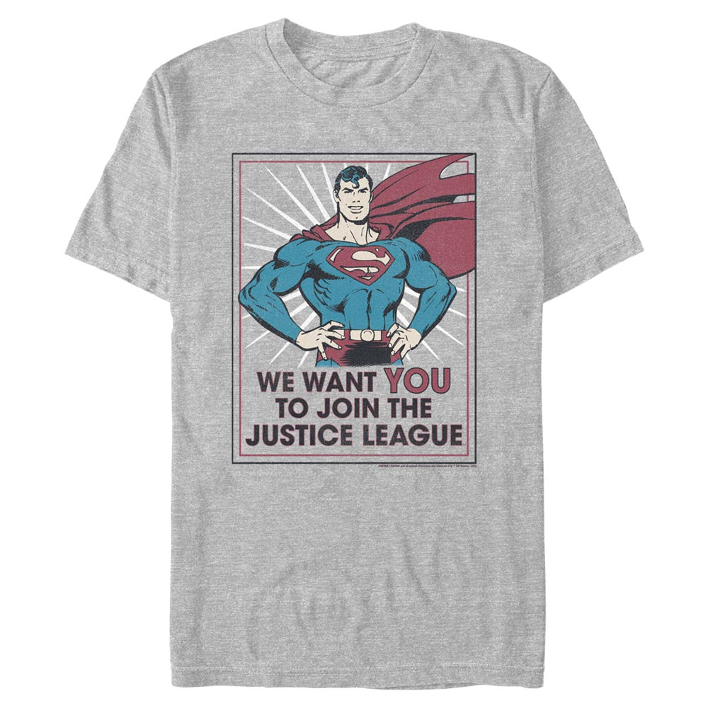 DC AMERICANA Join the Justice League T-Shirt