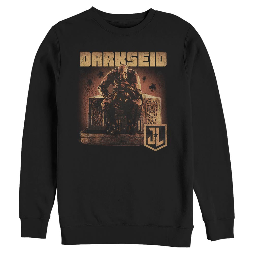 ZACK SNYDER'S JUSTICE LEAGUE Darkseid on Throne Crew Sweatshirt