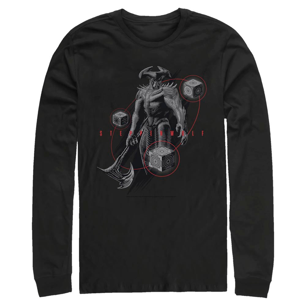 ZACK SNYDER'S JUSTICE LEAGUE Steppenwolf Long Sleeve Tee