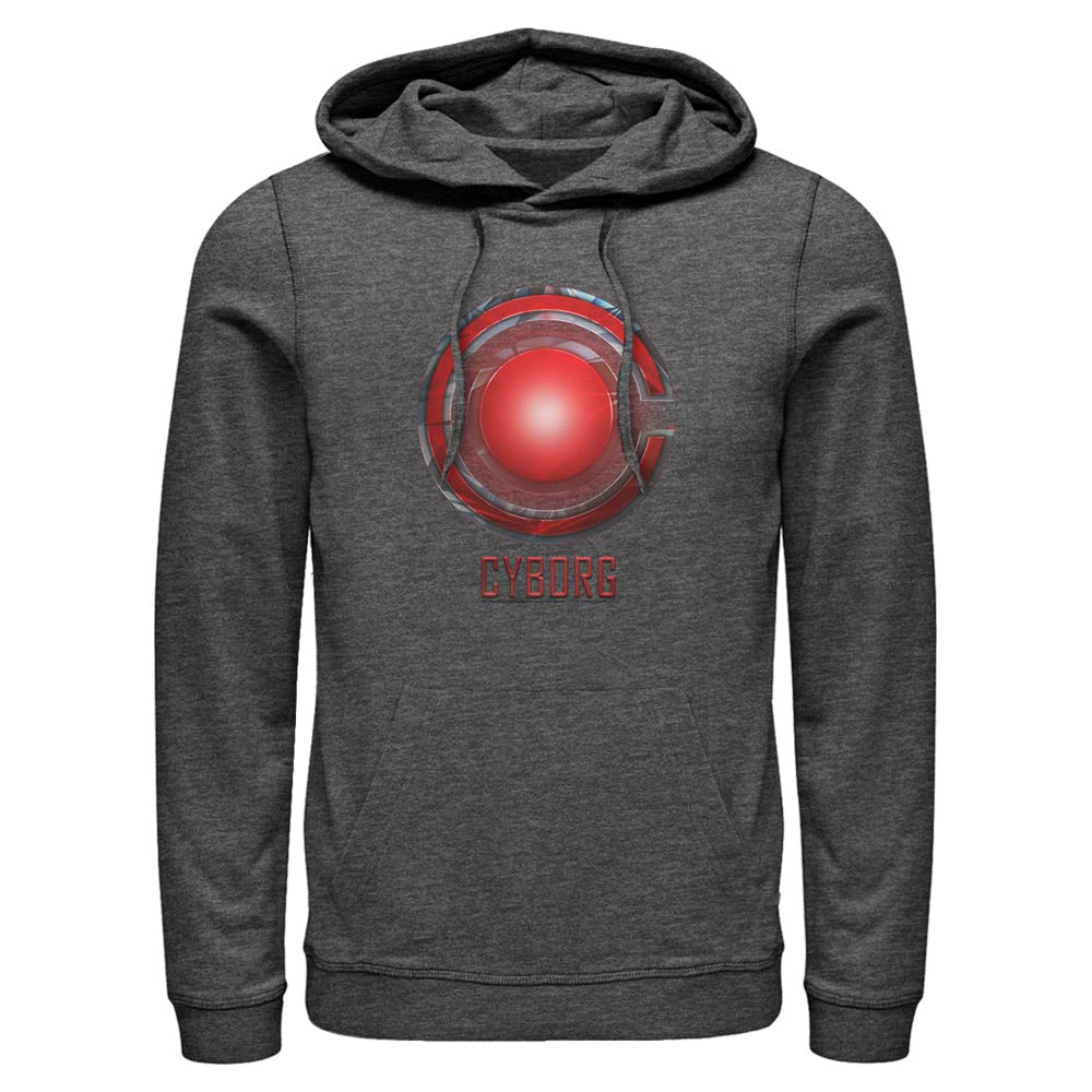 ZACK SNYDER'S JUSTICE LEAGUE Cyborg Logo Hoodie
