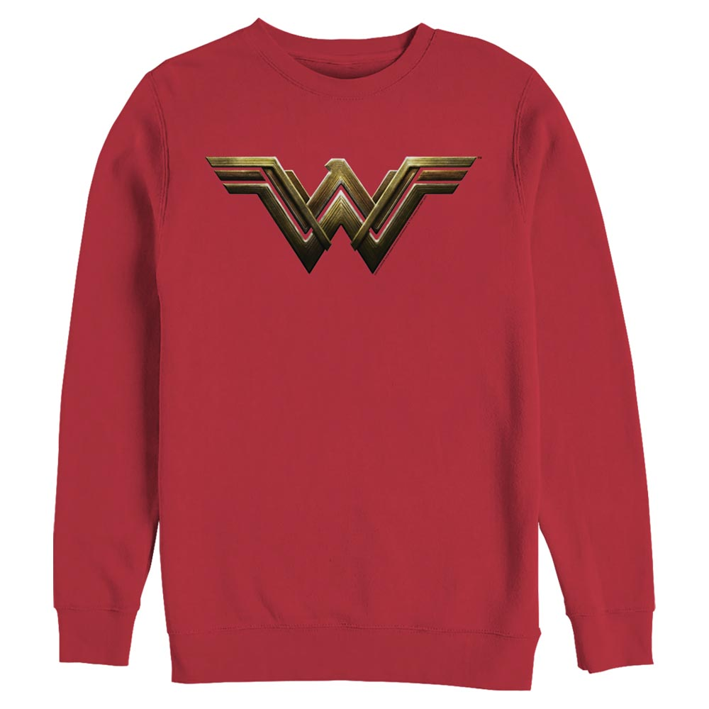 ZACK SNYDER'S JUSTICE LEAGUE Wonder Woman Logo Crew Sweatshirt